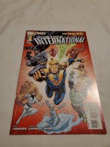 Justice League International 2nd Print 1 Near Mint- Cover by Aaron Lopresti