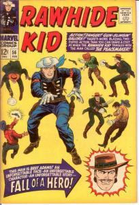RAWHIDE KID (1960-1979) 56 VG-F Feb. 1967 COMICS BOOK