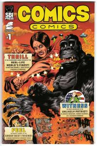 Comics Comics #1 (SBI Press, 2018) NM