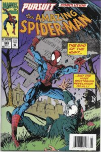 AMAZING SPIDER-MAN #389, VF/NM, w/ bound in cards, more ASM in store