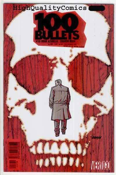 100 BULLETS #58, NM+, Brian Azzarello, Risso, Vertigo, more in store