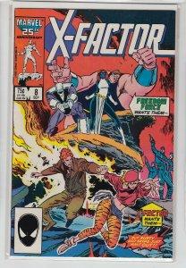 X-FACTOR (1986 MARVEL) #8 FN/VF 006271