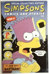 Simpsons Comics and Stories #1 Sealed w Poster Bongo Matt Groening  NM Near Mint