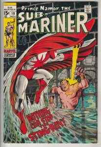 Sub-Mariner #19 (Nov-69) VF High-Grade Sub-Mariner (Prince Namor)