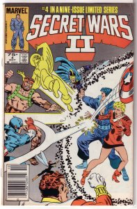 Secret Wars II   #4 of 9 FN