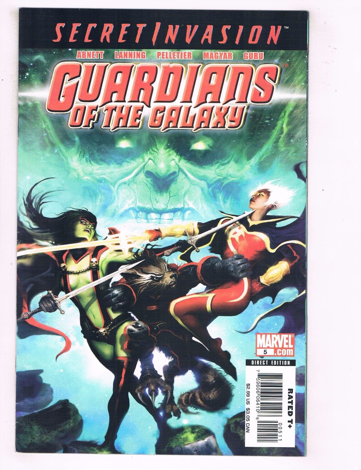 Guardians Of The Galaxy # 5 NM- 1st Print Marvel Comics