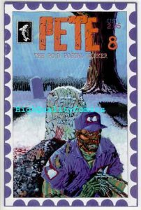 PETE the P.O.'d POSTAL WORKER #8, NM+, Mail, Postman on Elm Street, going,