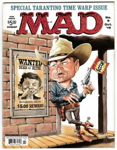 Mad Magazine #9 Special Tarantino Time Warp Issue (DC, 2019) New!