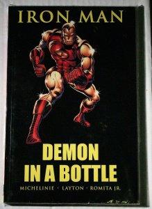 Iron Man Demon in a Botle Michelinie Layton Romita JR OOP NEW