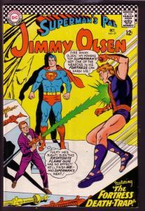 SUPERMAN'S PAL JIMMY OLSEN #97 1966-KRYPTONITE FLAME-DC VG