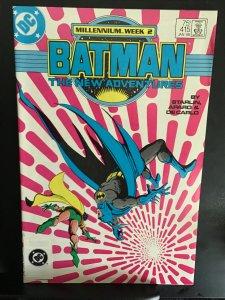 Batman #415 (1988) high-grade rare sticker on UPC code issue key! NM- Wow