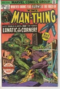 Man-Thing #21 (1975)