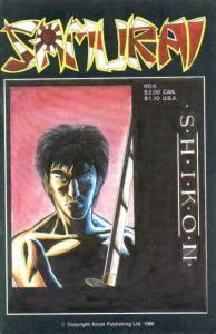 Samurai #6 VF; Aircel   save on shipping - details inside