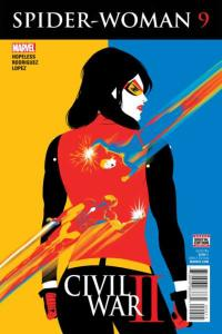 Spider-Woman (2016 series) #9, NM (Stock photo)