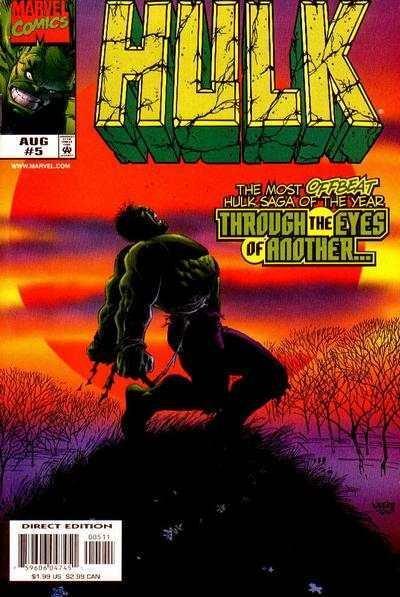 Hulk (1999 series) #5, NM + (Stock photo)