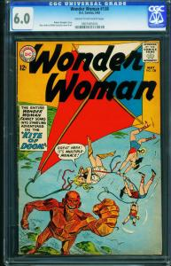 WONDER WOMAN #138 CGC 6.0 1963-robot cover-DC 0907405016