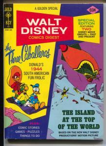 Walt Disney Comic Digest #51 1975-reprints Four Color #71-VF