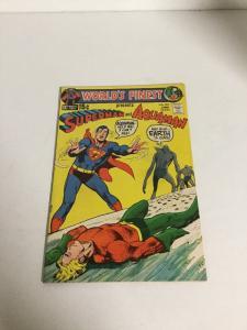 Worlds Finest 203 Vf Very Fine 8.0 Superman Aquaman Dc Comics Silver Age