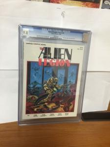 Marvel Graphic Novel 25 Cgc 9.8 Alien Legion