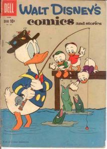 WALT DISNEYS COMICS & STORIES 237 GOOD  June 1960 COMICS BOOK