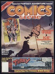 COMICS SCENE   9 FRAZETTA/BAKSHI,TERRY