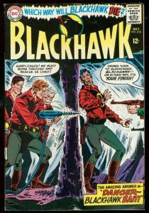BLACKHAWK #210 1965-DC COMICS-WILD DRILLING COVER-DEATH VG