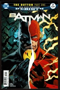 Batman #21 Rebirth (Jun 2017, DC) 0 9.2 NM-