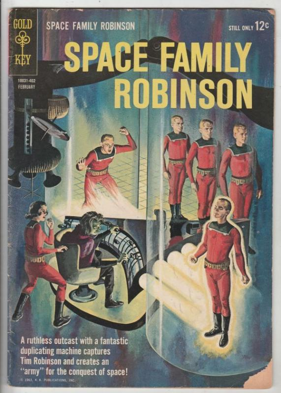 Space Family Robinson, Lost In Space #6 (Feb-64) VG/FN Mid-Grade Will Robinso...