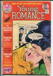 Young Romance #176 1971-DC-Giant issue-lingerie panel-spicy art-G