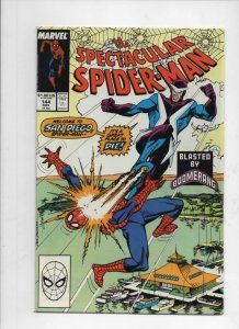 Peter Parker SPECTACULAR SPIDER-MAN #144 VF/NM Boomerang 1976 1988 more in store