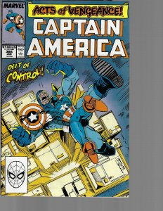 Captain America #366 (Marvel, 1989) VF