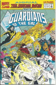 Guardians of the Galaxy: Annual #2 (1992) - Galactic Guardians vs Intimidators