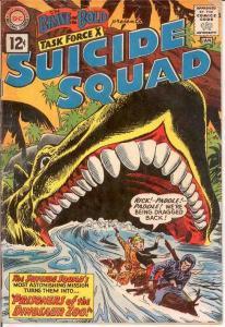 BRAVE & BOLD 39 PR-FR SUICIDE SQUAD  January 1962 COMICS BOOK