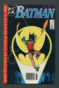 Batman #442 / 9.6 NM (1st Tim Drake Robin) Newsstand December 1989