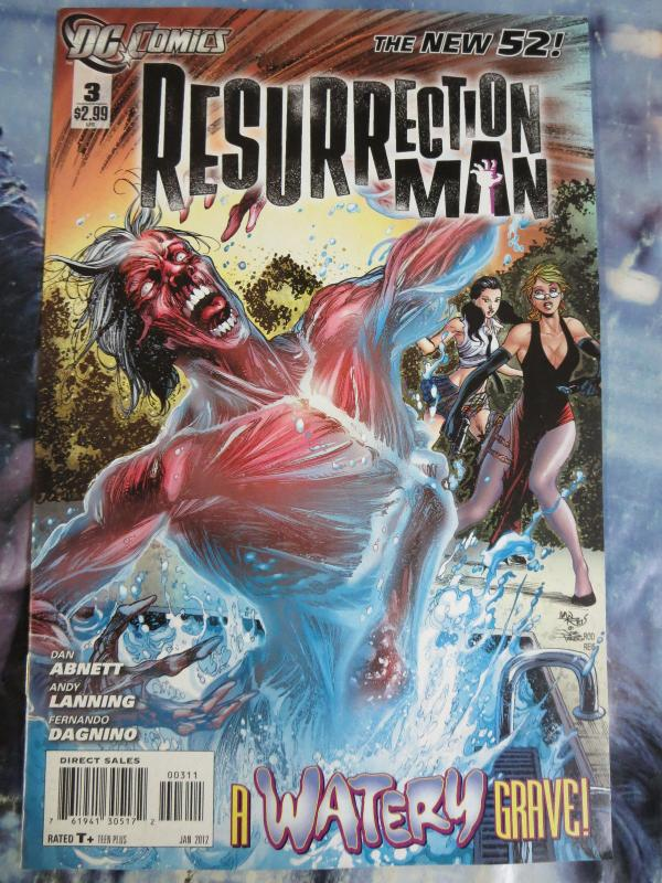 RESURRECTION MAN (2011 2nd series) #1-3 5-8 10-11 New 52 DC Comics near complete