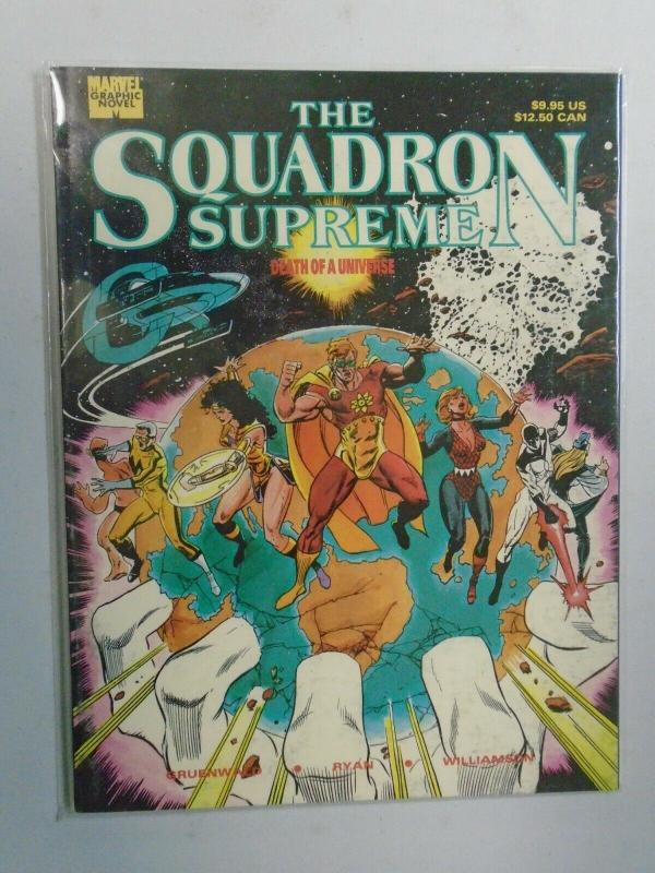 Squadron Supreme Death of a Universe GN (1989) 6.0/FN 1st print