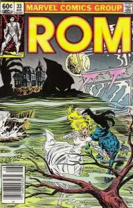 Rom (1979 series) #33, VF+ (Stock photo)