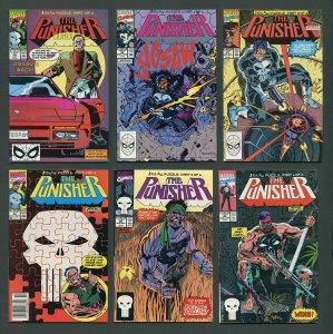 Punisher ##35 #36 #37 #38 #39 #40 (Jigsaw SET) 9.2 - 9.4 NM  1990