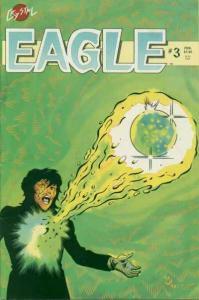 Eagle (1986 series) #3, VF- (Stock photo)