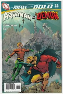 The Brave And The Bold #32 Aquaman And The Demon Etrigan April 2010 DC