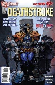 Deathstroke #4 (VF/NM) 2012 DC Comics ID#000