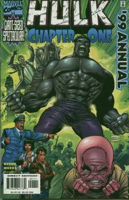 Hulk (1999 series) Annual #1999, NM- (Stock photo)