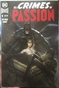 DC's Crimes of Passion #1 NM Lim to 2500 by Ryan Brown