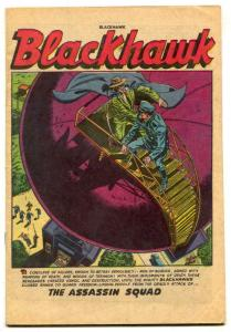 Blackhawk #68 1953-Quality-Assassin Squad- coverless copy
