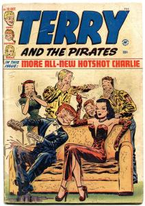 Terry and the Pirates #18 1949- Milton Caniff- Dragon Lady VG