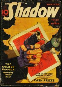 SHADOW 1938 MAR 1-STREET AND SMITH PULP-RARE G