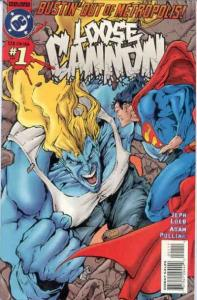 Loose Cannon #1, NM + (Stock photo)