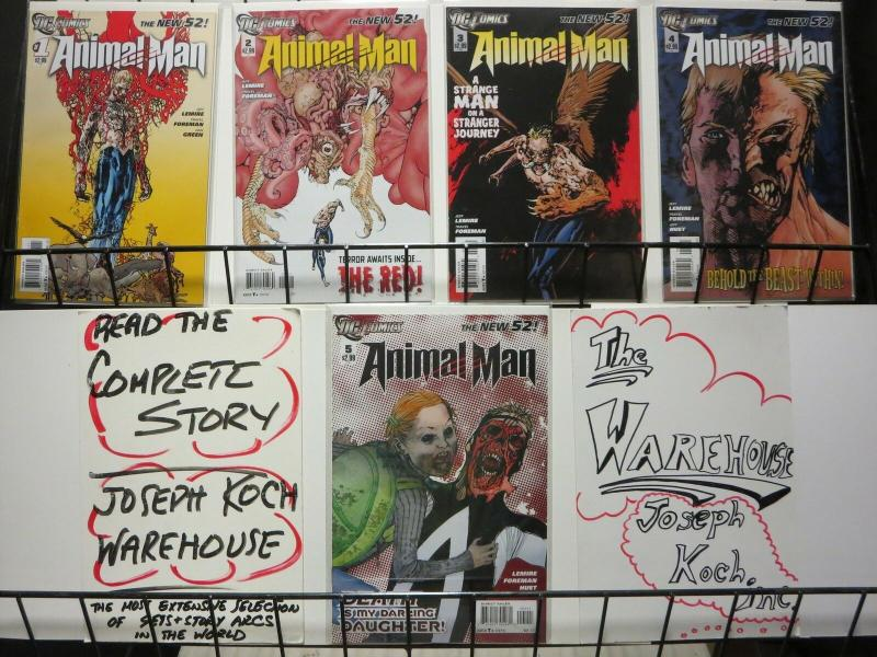 ANIMAL MAN (2011) 1-5  The HUNT - The New 52 !