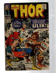 Mighty Thor # 137 VG Marvel Comic Book Loki Odin Asgard Sif Avengers Hulk RB8