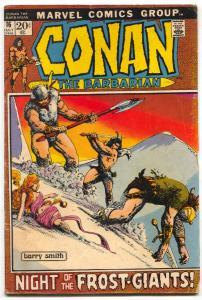CONAN THE BARBARIAN #16 1972-NATIONAL DIAMOND SALES VARIANT-MARVEL